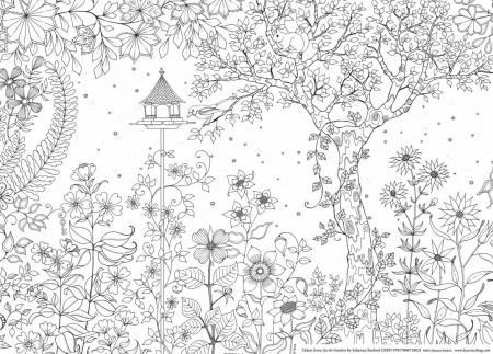 Secret Garden, carte de colorat pentru adulti