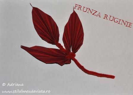 frunza ruginie
