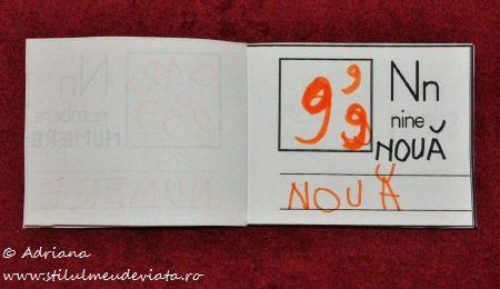 litera N de la NOUA