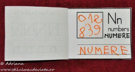 litera N de la NUMERE