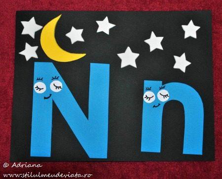 litera N de la Noapte