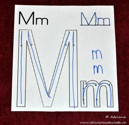 literele m mare si m mic