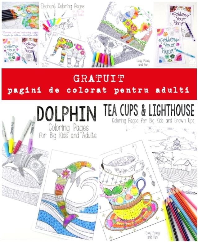 pagini de colorat pentru adulti