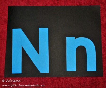 sabloane litera N