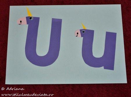 unicorni, litera U