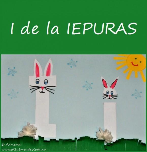 Litera I de la Iepuras