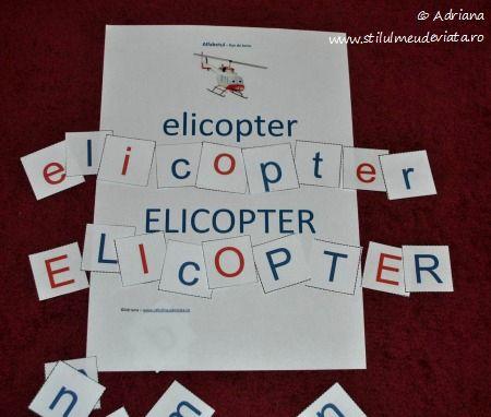elicopter, litera E