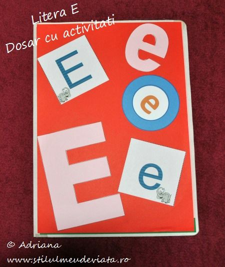 litera E, dosar cu activitati