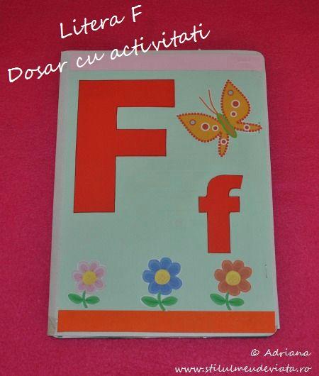 Dosar cu activitati, litera F