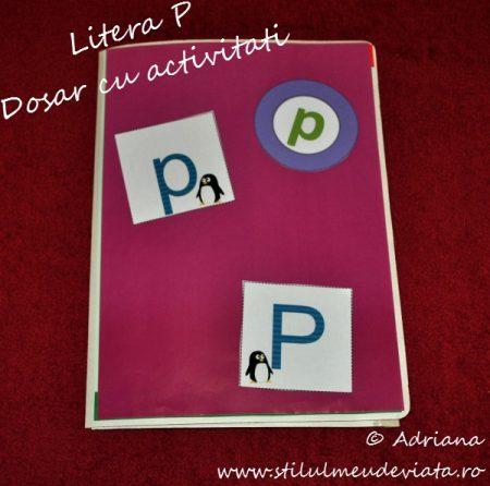 Litera P, dosar cu activitati