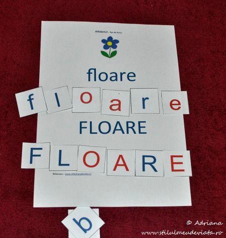 floare, litera F