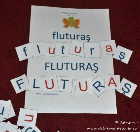 fluturas, litera F