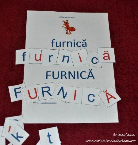 furnica, litera F