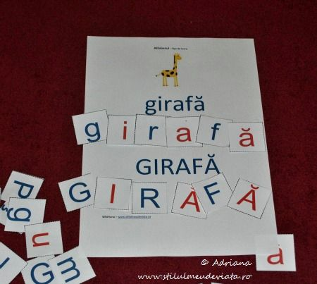 girafa, litera G
