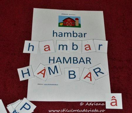 litera H, hambar