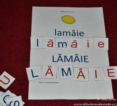 litera L, lamaie