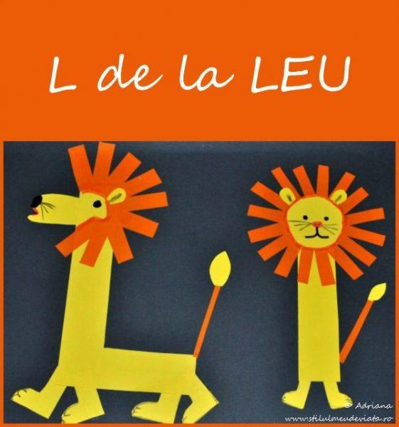 litera L de la LEU - activitate practică