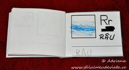 litera R de la RAU