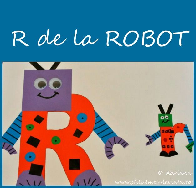 Litera R de la ROBOT