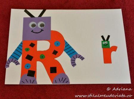 litera R, ROBOT