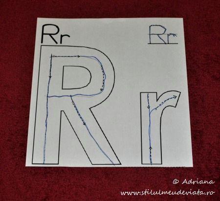 trasare R mare, r mic