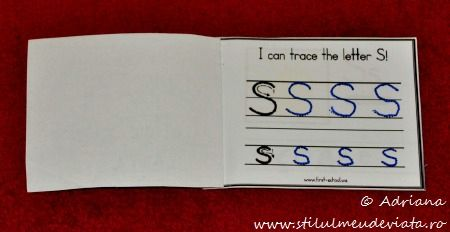 I can trace the letter S