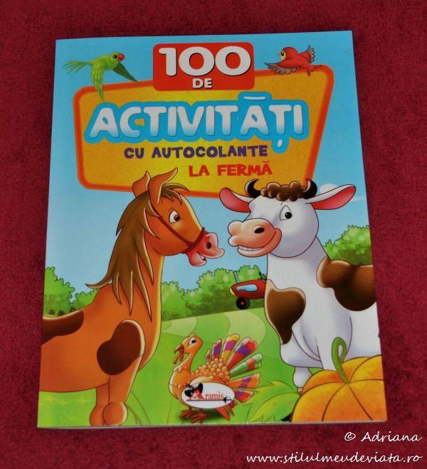 La ferma, 100 de activitati cu autocolante