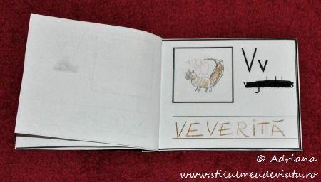 litera V de la VEVERITA