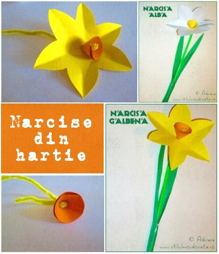 narcise din hartie