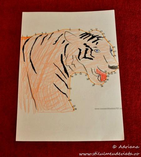 tigru, fisa unire cifre