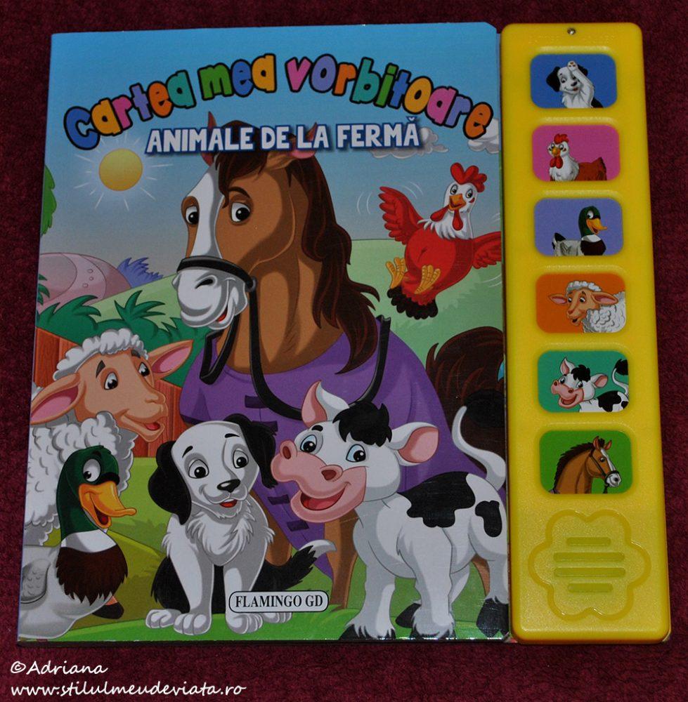 Cartea mea vorbitoare - Animale de la fermă