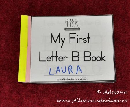 My First Letter B Book