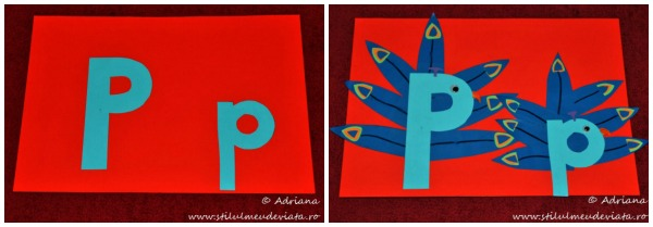 activitate practica, litera P de la PAUN