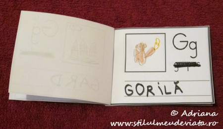 litera G de la GORILA