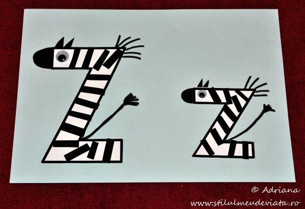 litera Z de la ZEBRA