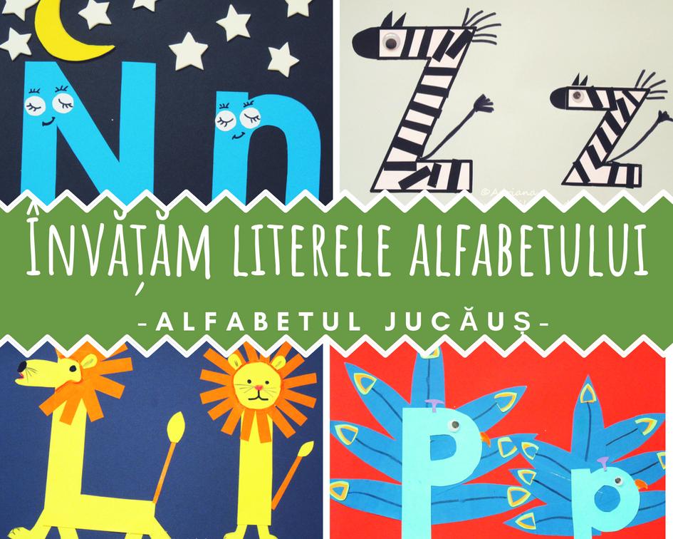 Învățăm literele alfabetului
