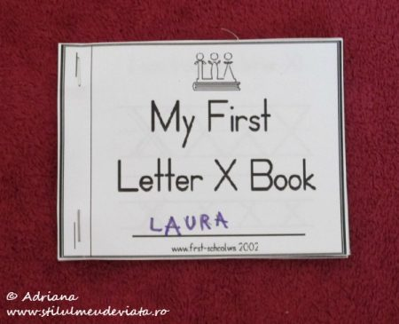 My First Letter X Book
