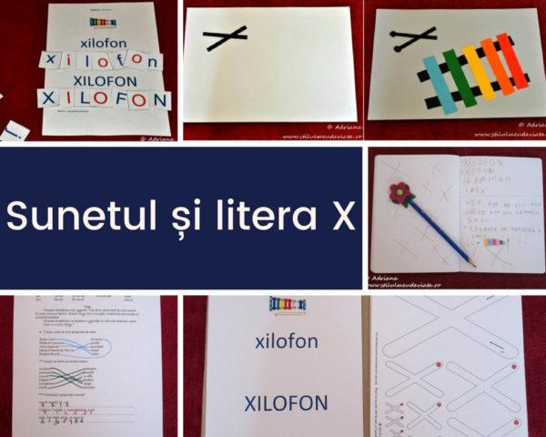 Sunetul și litera X
