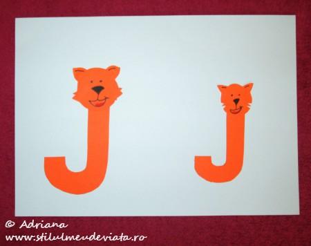 litera J de la JAGUAR