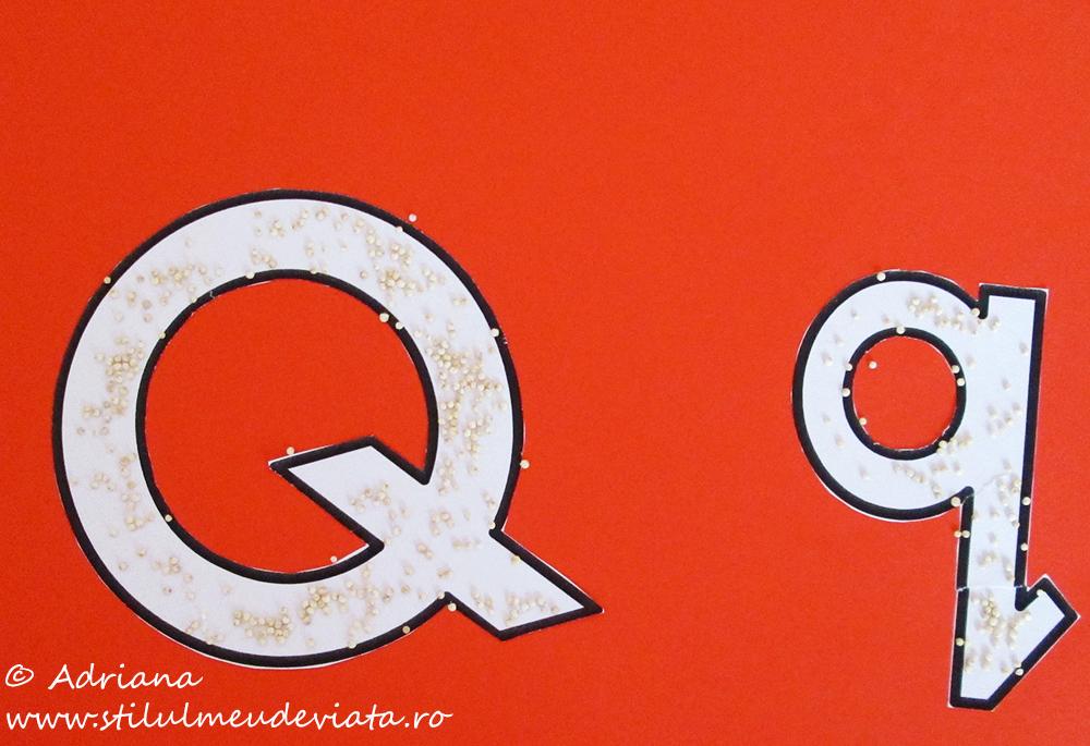 litera Q de la QUINOA activitate practică