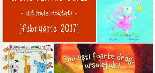 carti pentru copii, februarie 2017