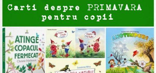 carti despre primavara pentru copii