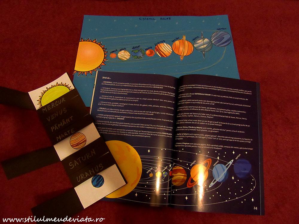 Lecția noastră despre SISTEMUL SOLAR