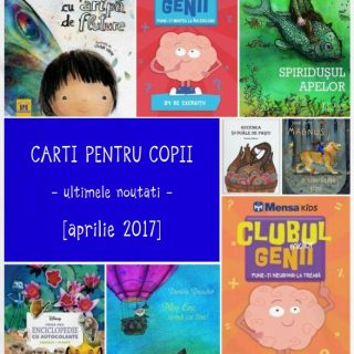 carti pentru copii, noutati aprilie 2017