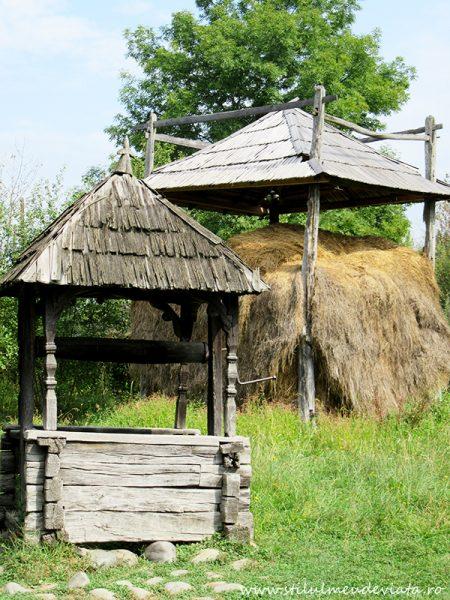 Casa Ilea, Călinești, Valea Cosăului, fântână