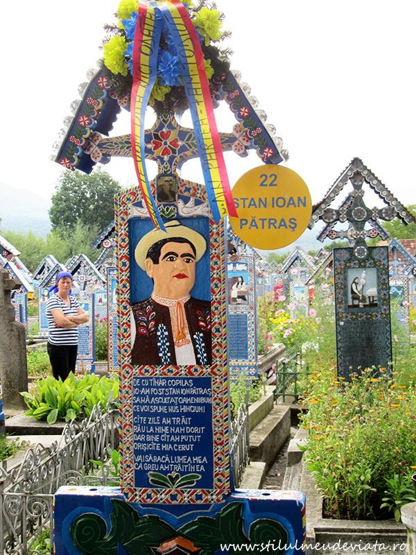 Cimitirul Vesel, Stan Ioan Patras