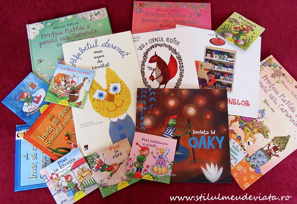 cărți citite în vacanța de vară, clasa I