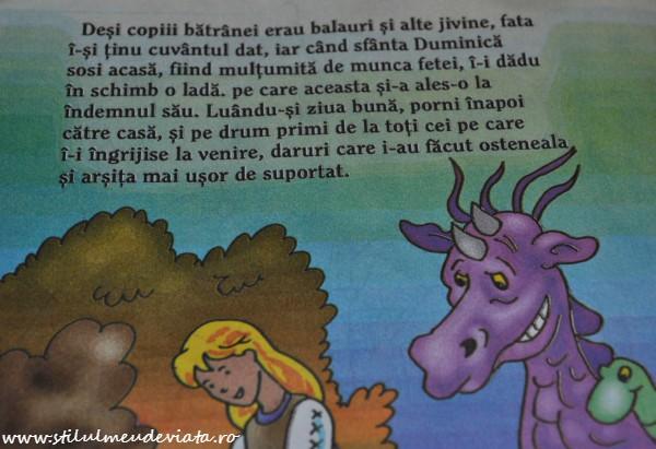 Fata babei și fata moșului, carte pentru copii cu greșeli gramaticale