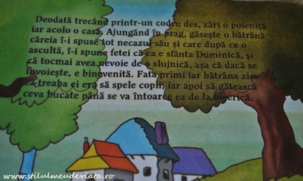 Fata babei si fata mosului, carte cu greseli gramaticale