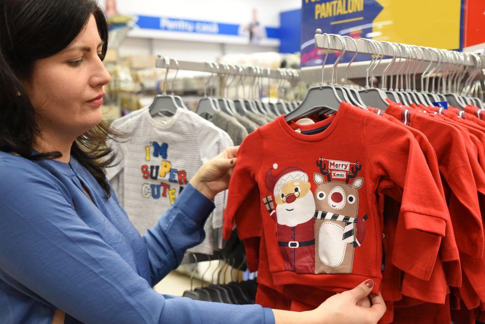 bluză cu Moș Crăciun